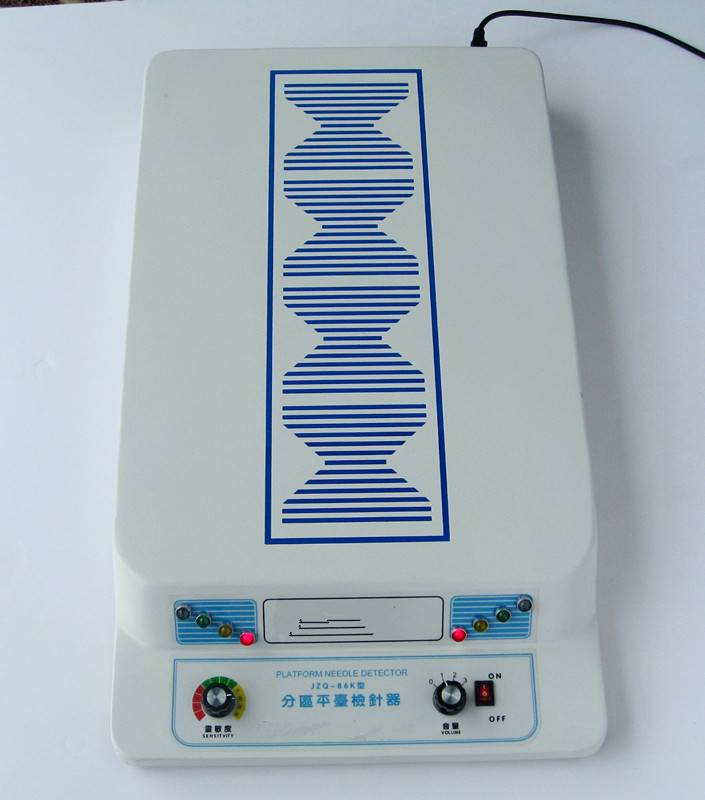 top type table needle detector, high sensitive and best price hand-held metal detector