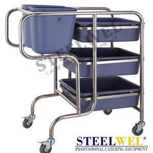 steelwel collecting cart