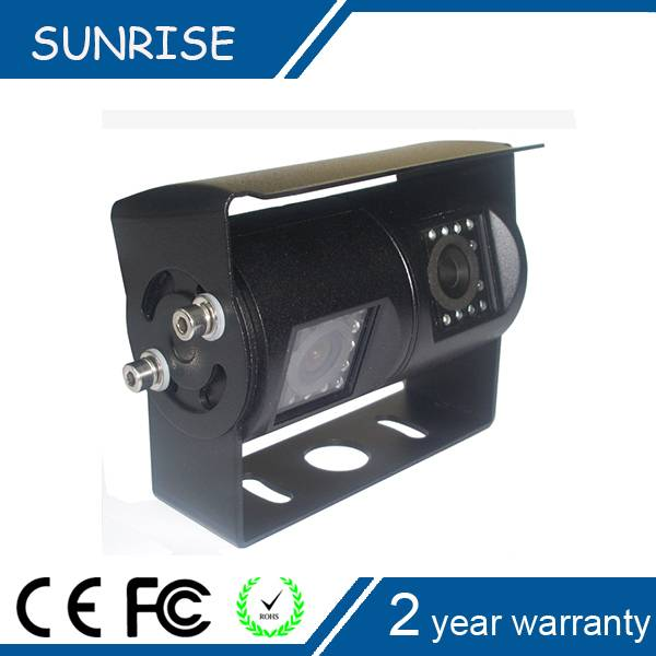 Shenzhen Sunrise Tech dual camera car rear view bluetooth camera