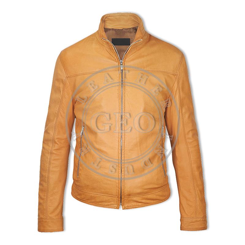 Men Winter Fashion Leather Jackets