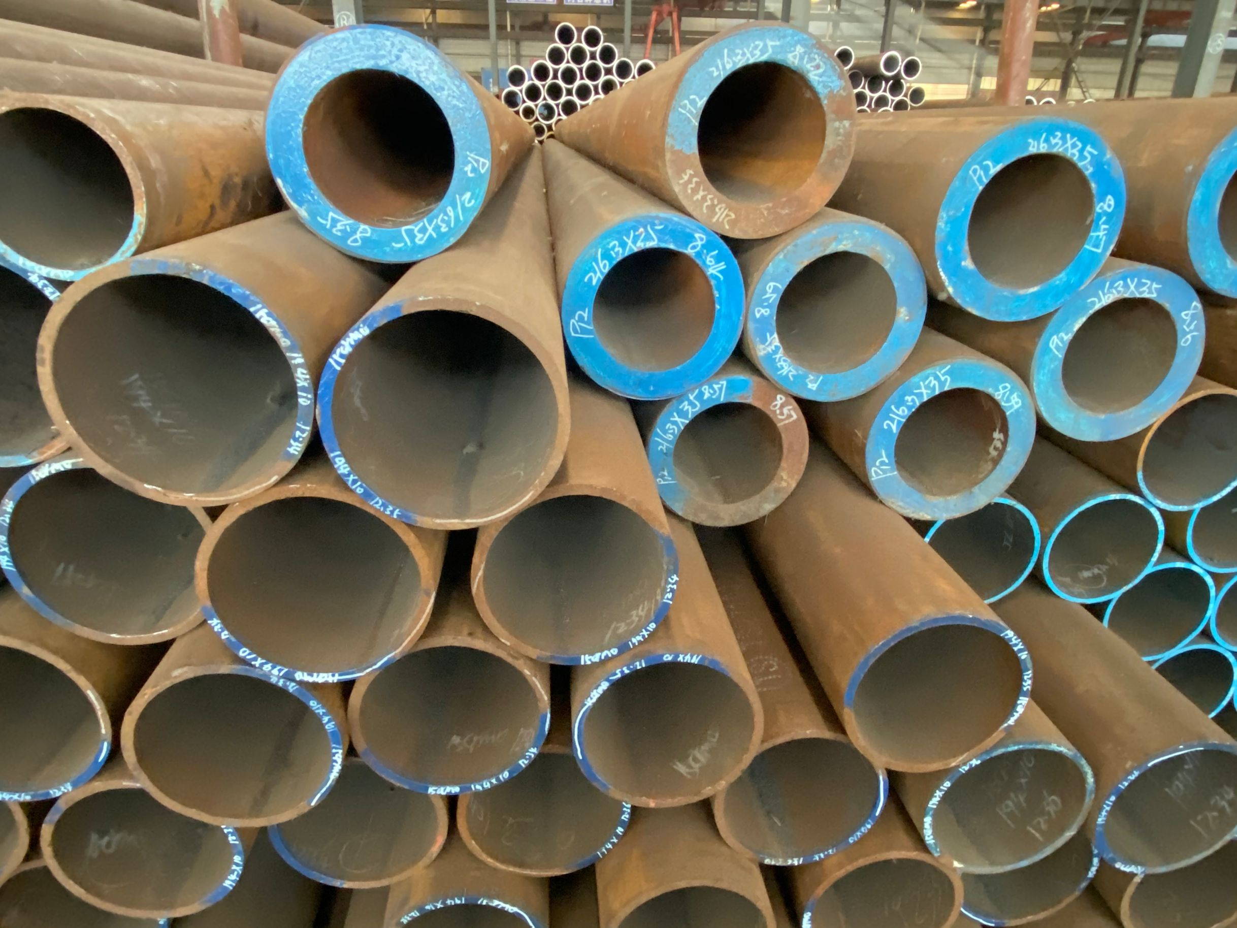 ASTM A355 P5 / P9 / P22 Alloy Steel Seamless Pipe / Tube on Sale