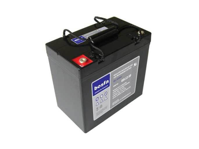 GEL12-55 12v 55ah colloid battery 12v55ah gel battery 12v 55ah maintenance free battery gel cell bat