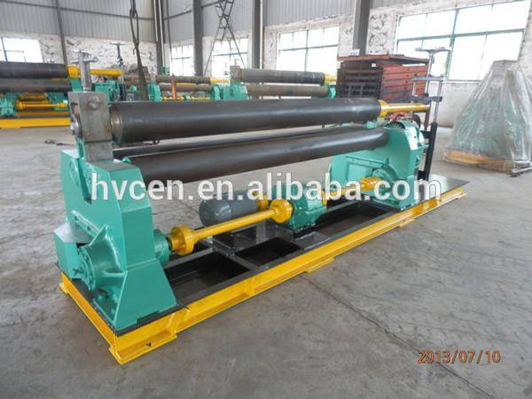 3 rolls small sheet roller bending machine W11F-2*2000