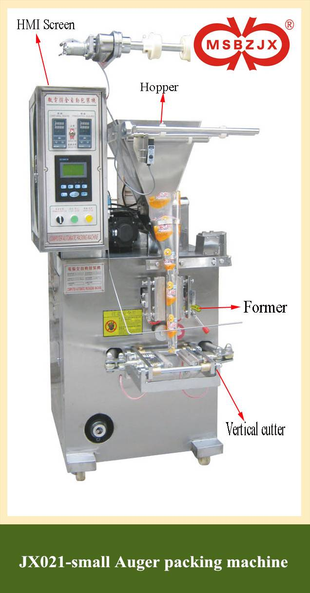 JX021-Fully Automatic small AugerPackaging Machine
