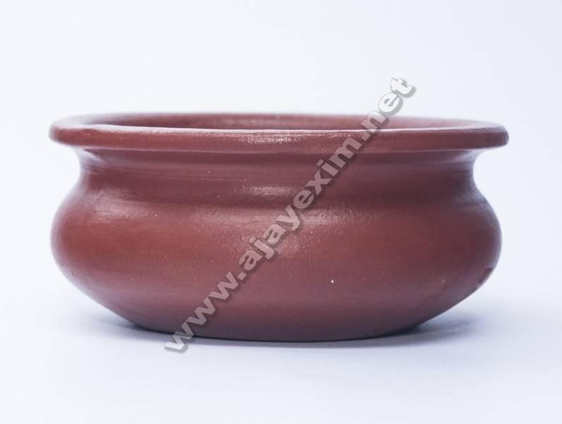 Indian Terracotta Biryani Handi