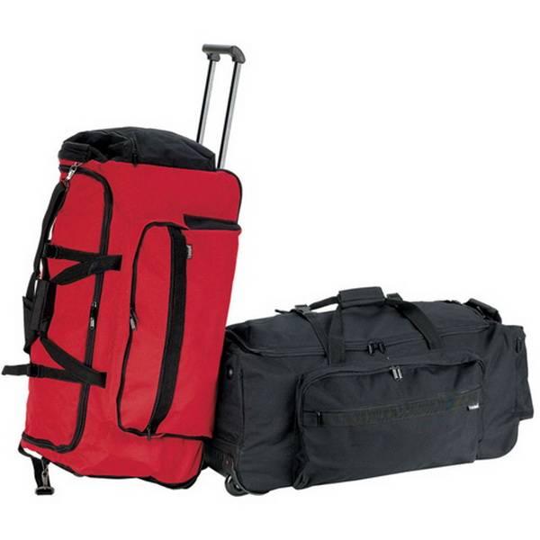 Rolling Duffel Bag/trolley sports duffle bag