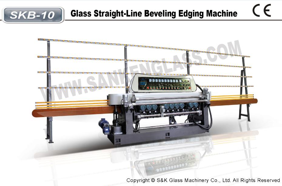 Glass Straight-line Beveling Machine