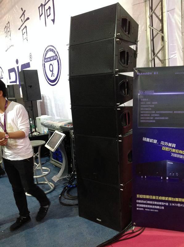 Q1-Dual 10'' Compact Line Array Speaker