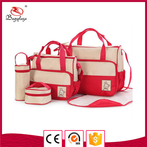Alibaba new item camping bag set 4 in 1 baby diaper handbag