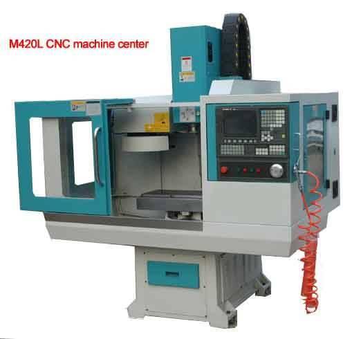 M420L cnc machinery milling