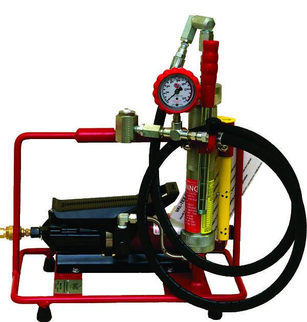 Val-Tex Grease BARREL Air Hydraulic Lubrication Gun 2000