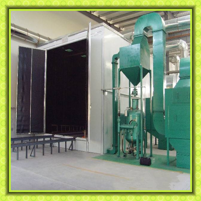 Shot Blasting Room Grit Polishing Abrasive Machine Sand Blast Room/Booth