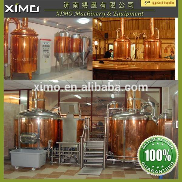 red copper beer brewery equipment