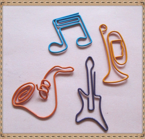 Promotional Customized Shaped Metal Paper Clip