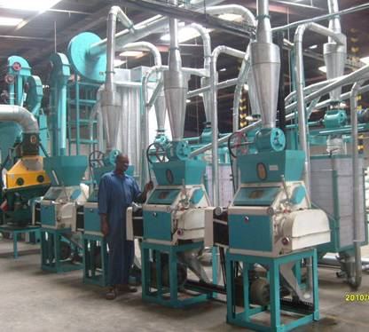 30mt per day maize grinding machinery