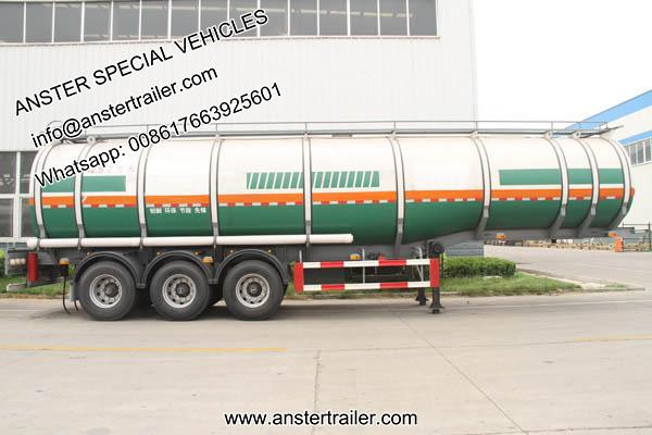 30/40/50 m³/cbm oil, diesel, petroleum tanker trailer for sale