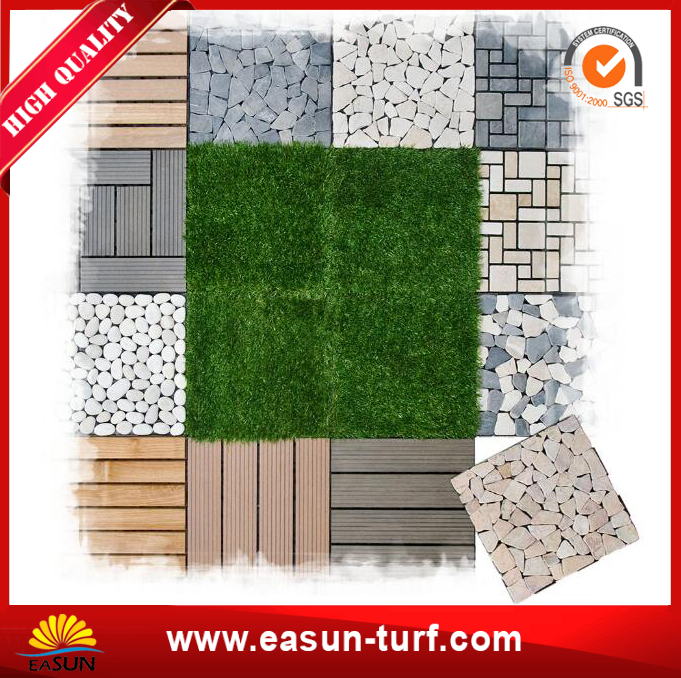 Landscaping Artificial Grass Tiles for Home Garden Decorations-MY