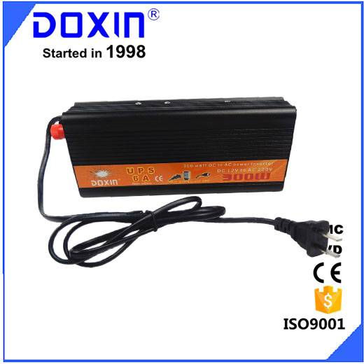 doxin 12v 220v 300w modified sine wave inverter with ups charger function