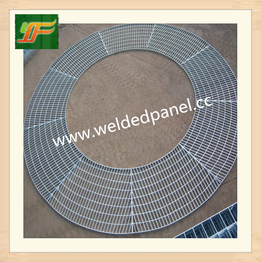 China supply best selling hot dipped galvanized forge-welded steel grating mesh
