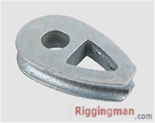 Rigging HArdware DIN3091 THIMBLE, DUCTILE IRON