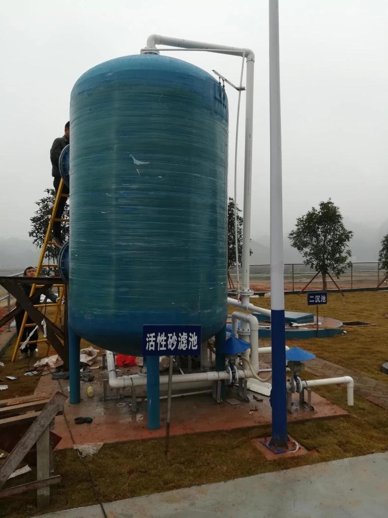 Hot Sale Best Quality Long Lasting Fibre-reinforced plastic(FRP) Septic-tank for Sewage treatment