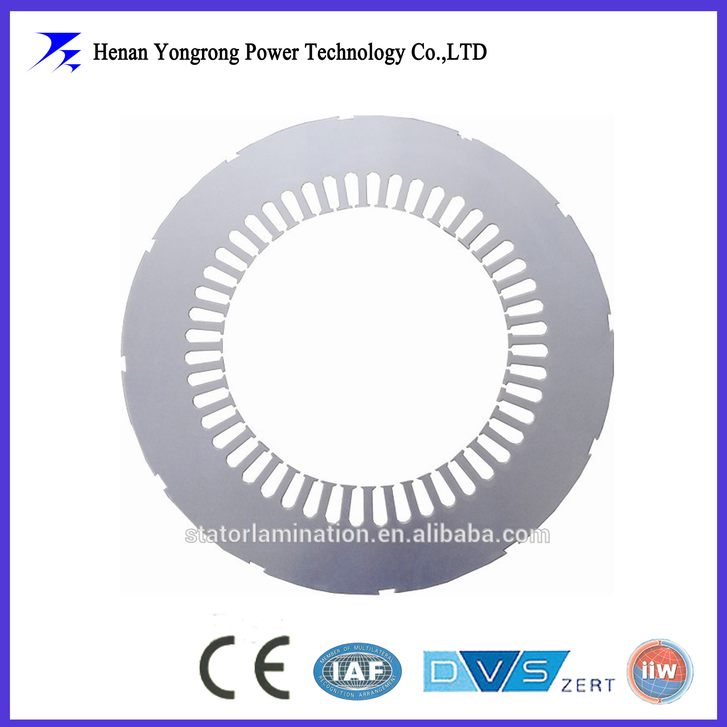 Electric motor steel stamping lamination core from China supplier