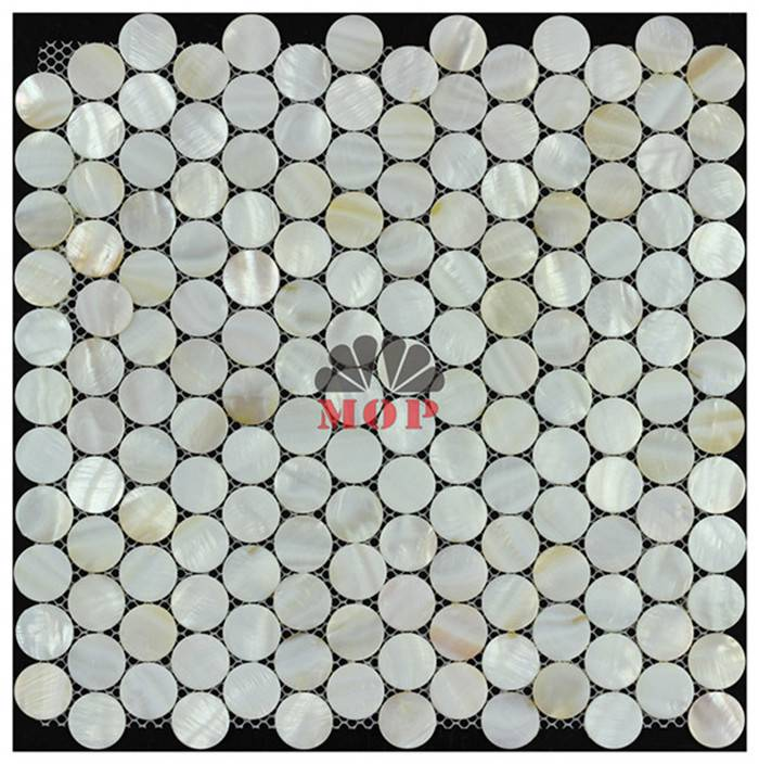 wall paper shell decoration tile entryway