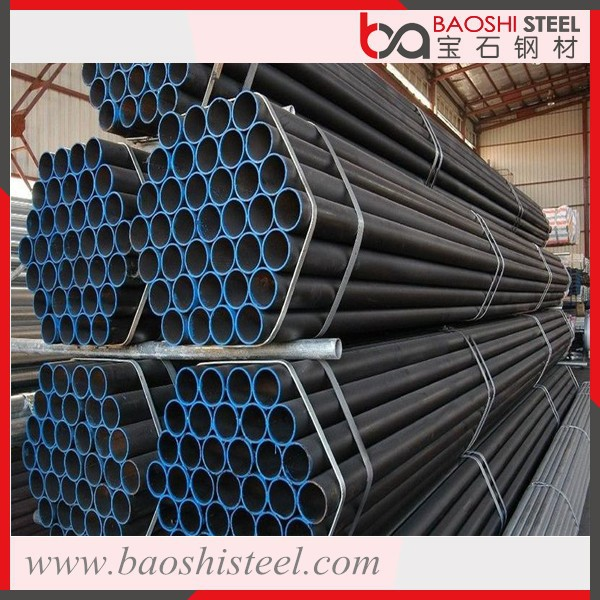 Free Samples of Black Round Pipe for Building