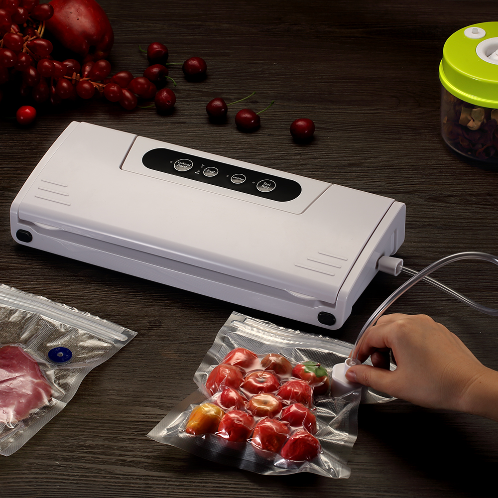 Sea-maid Sous Vide Plastic Bag With Hand Vacuum Sealer For Food Storage