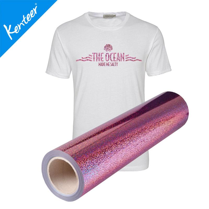 Hologram heat transfer vinyl 13colours 50cm25m for decoration