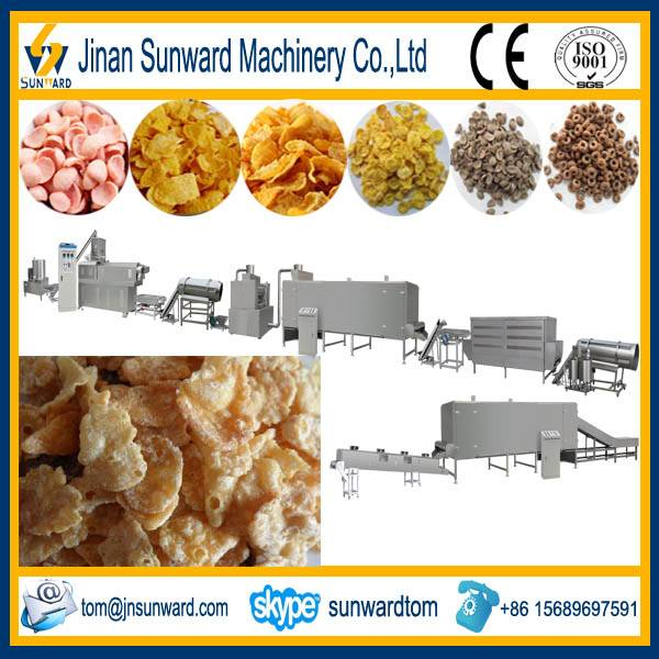Breakfast Cereal Processing Line Machinery