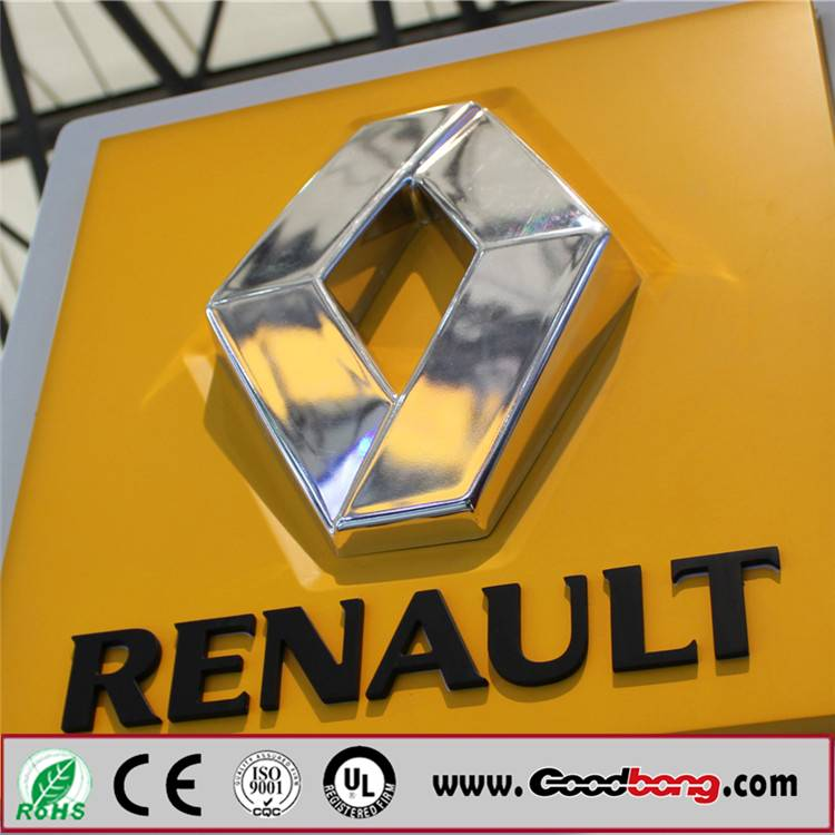 2015 popular selling custom 3D metal auto emblems car logo