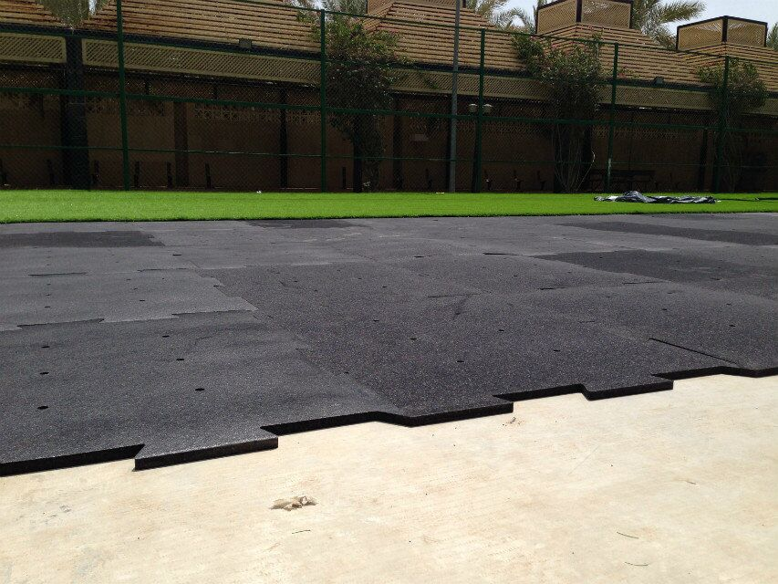 Epp shock pad for synthetic turf