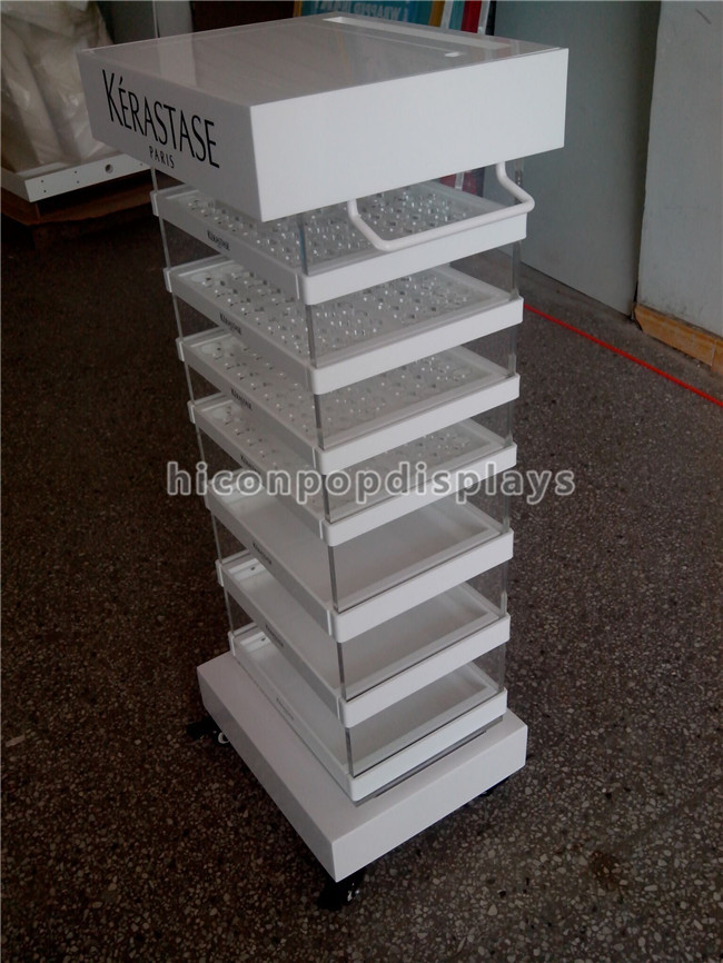 Cosmetic Shop Commercail Showcase Acrylic Makeup Display case