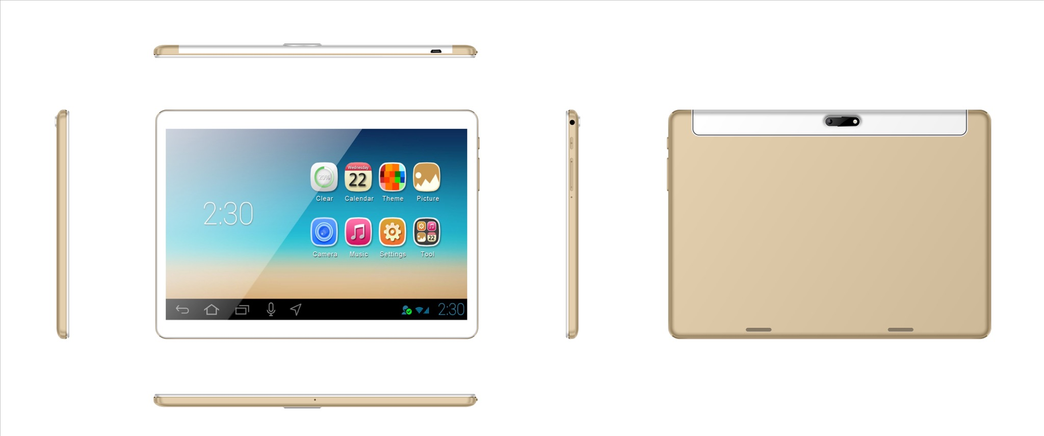 Tablet PC 9.6inch 8001280 Pixels IPS Android 6.0