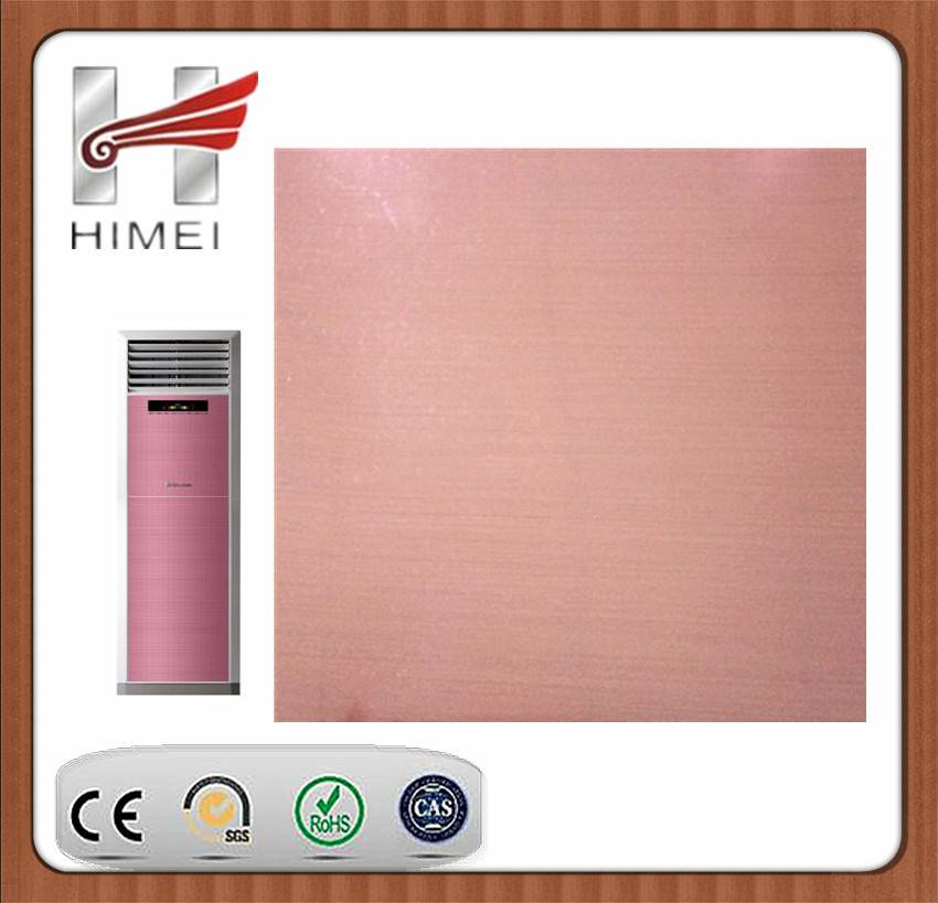 Pvc film laminated sheet for air conditioner
