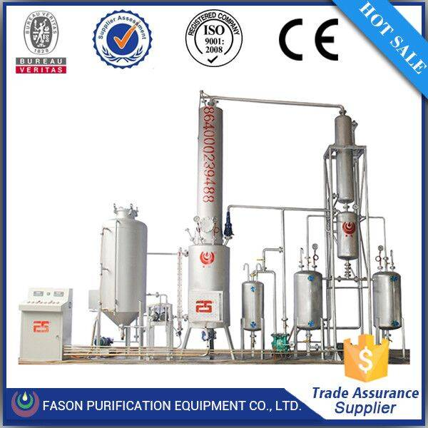 Low Operation Cost High Effciency Output Waste Fuel Oil Purifier