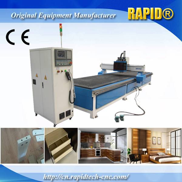 China Rd1258 Double Working Position Italy Hsd Drill Group CNC Drilling Router Machine