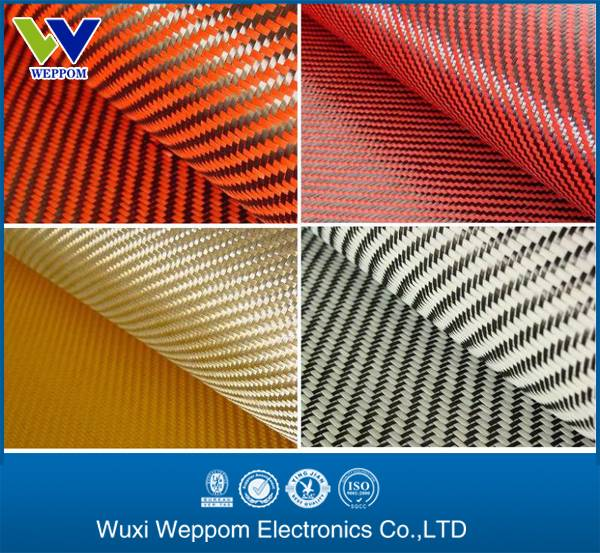 top quanlity carbon kevlar hybrid fabric
