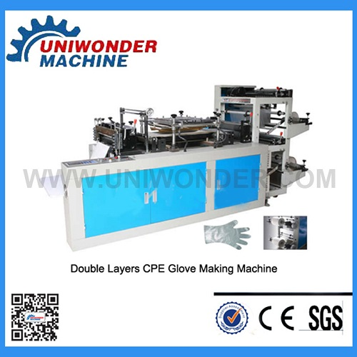 Disposable CPE Glove Making Machine