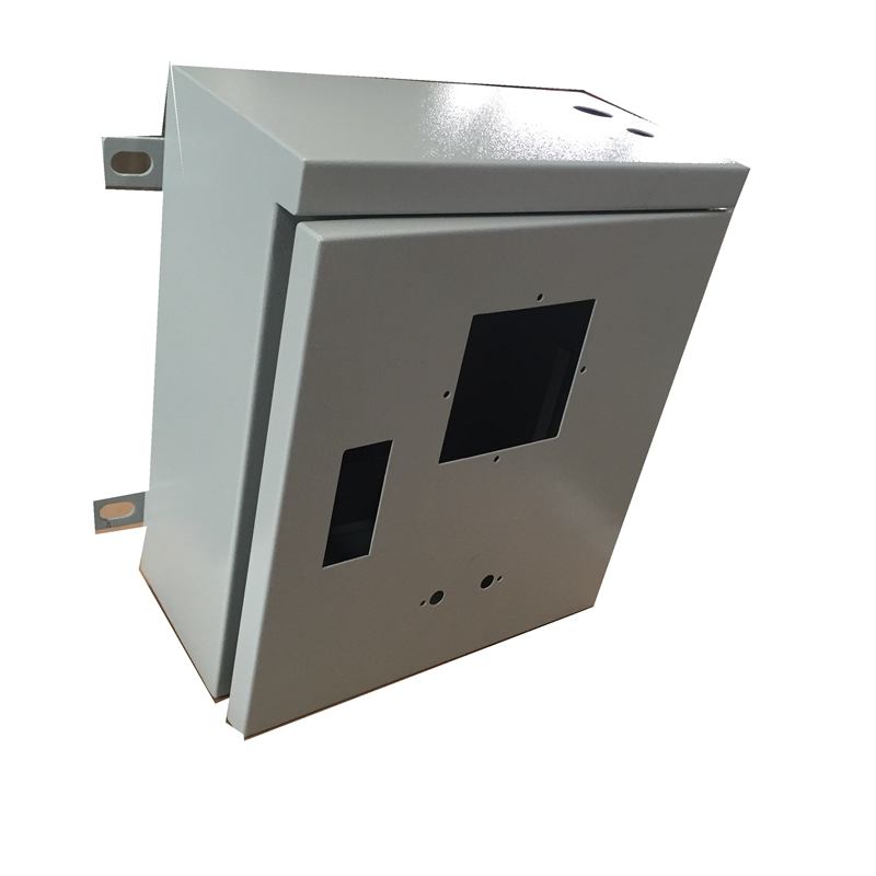 Wall mount electrical metal box