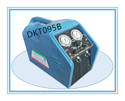 Dkt095b 3/4HP High Speed Oil-Less Compressor Spark-Proof Refrigerant Recovery Recycling System