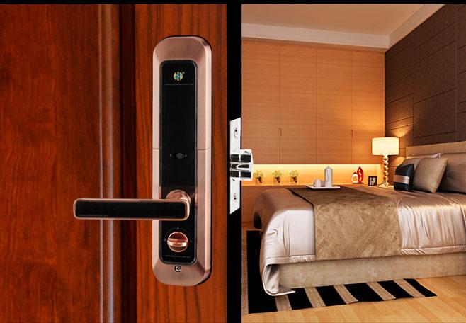 High Quality Professional Manufactory Realiable fingerprint keyless electronic door lock