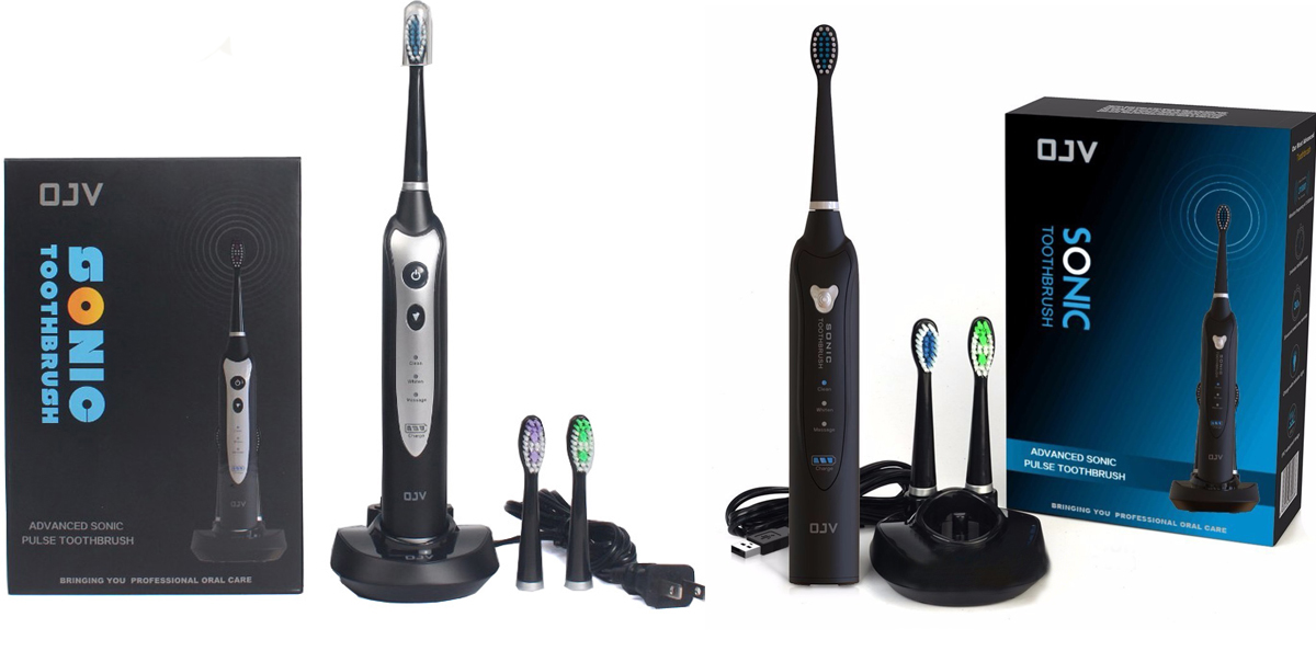 Top Quality Wireless Rechargeable Sonic Toothbrush with Holder