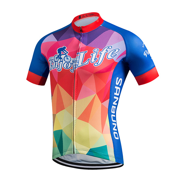 China factory high quality polyester customize short sleeve cycling jersey