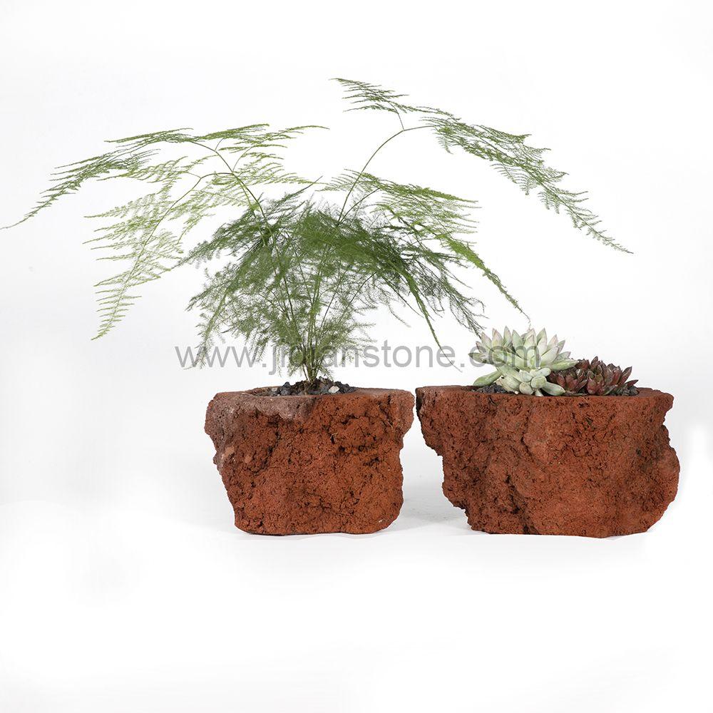 Lava Stone Flowerpot Pumice Planter