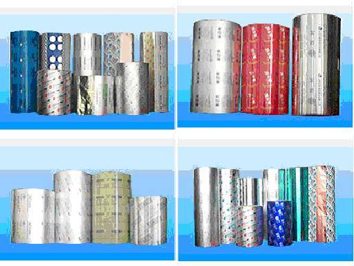 Aluminium foil VMPET AND VMCPP packing material