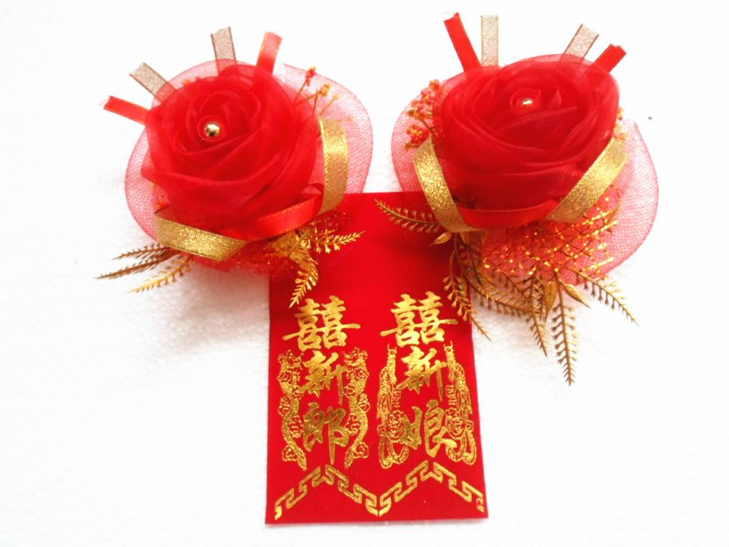 Fancy Firework Bow Christmas Decoration