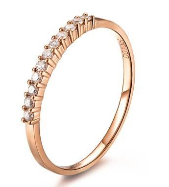 Fashion  Women Rose Gold Ring
