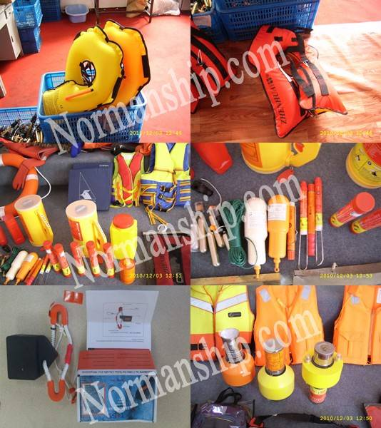 Automatically self-righting inflatable life raft type Z
